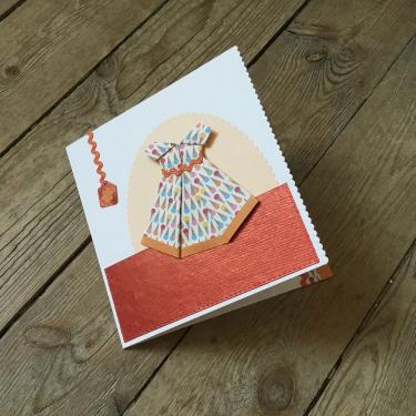 Carte tutti frutti - Carte double avec un espace pour glisser un billet doux !