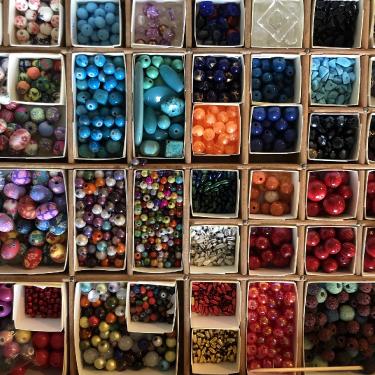 Des perles minérales