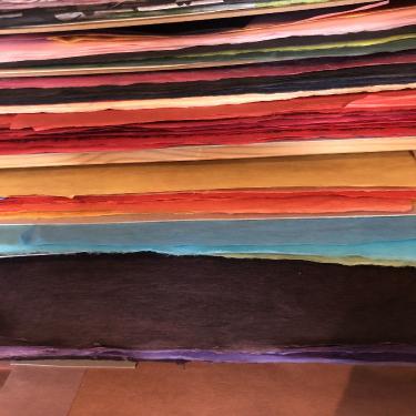 Le papier de mûrier pour le hanji